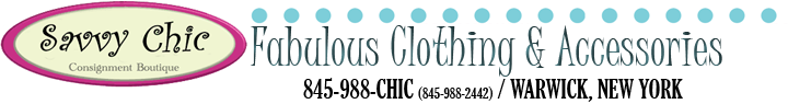 My Savvy Chic Consignment Boutique - Warwick, New York