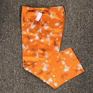 Silk Box Pants - Size 4