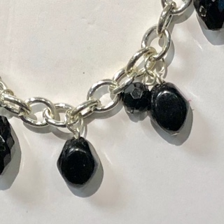 Black Stones Necklace