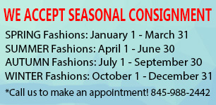seasonal consignment